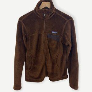 Patagonia Brown Polartec Re-Tool Full Zip Fleece